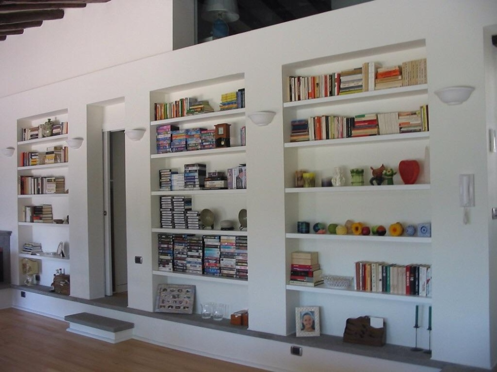 Libreria A Parete Prezzi.Libreria A Parete Prezzi Damesmodebarendrecht